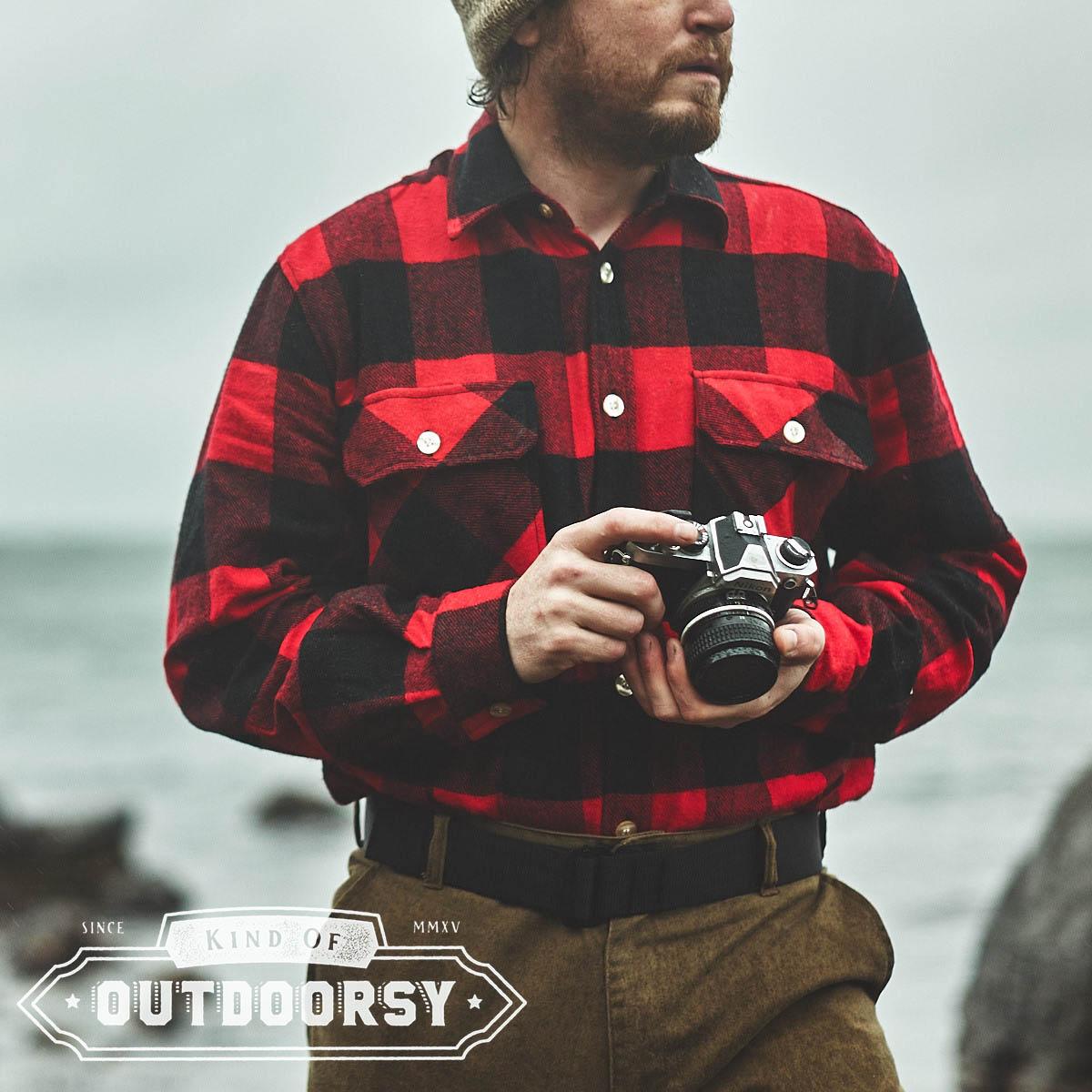80b04540dca Heavyweight Plaid Flannel Shirt - Kind of Outdoorsy