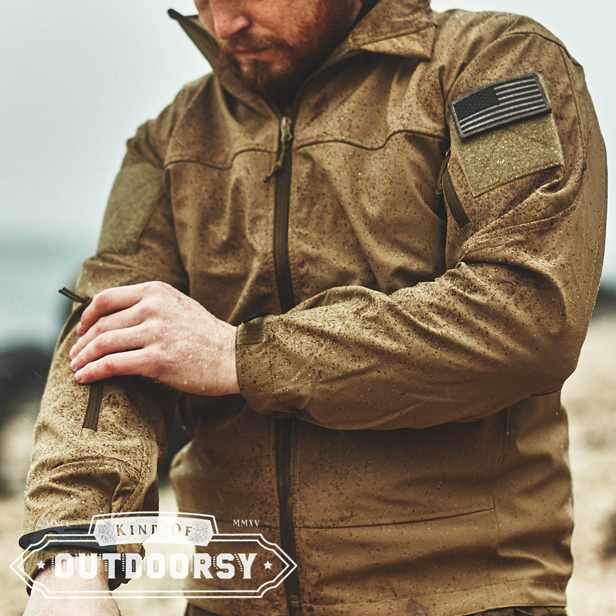 Covert Ops Lightweight Soft Shell Jacket - Kind of Outdoorsy
